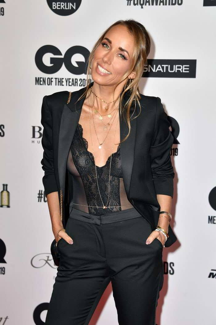 Annemarie Carpendale See Through at the 2019 GQ Men of the